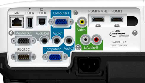 Epson 1440 connection panel