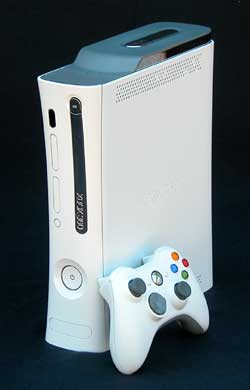 The Xbox 360 front panel and controller