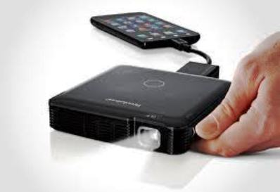 Brookstone HDMI Pocket Projector Review