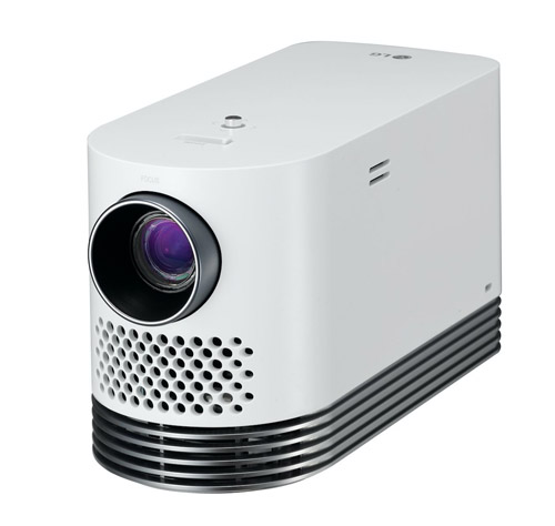 LG Probeam Laser home theater TV projector