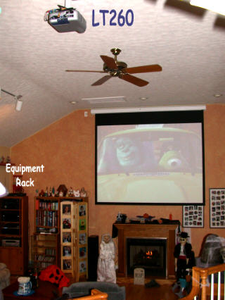 My Nec Lt260 Home Theater By Walt Baker