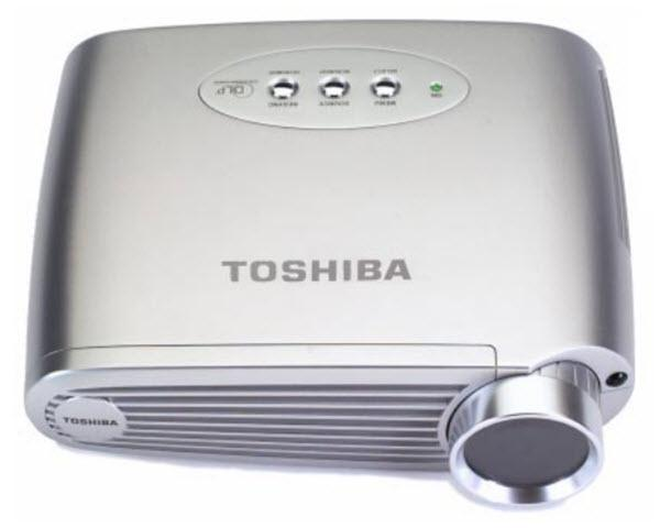 Toshiba TDP-P4 Projector