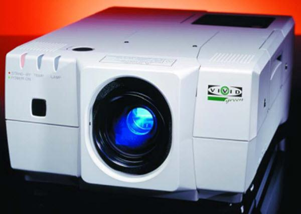 Christie Vivid Green Projector