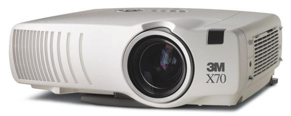 3M X70 Projector