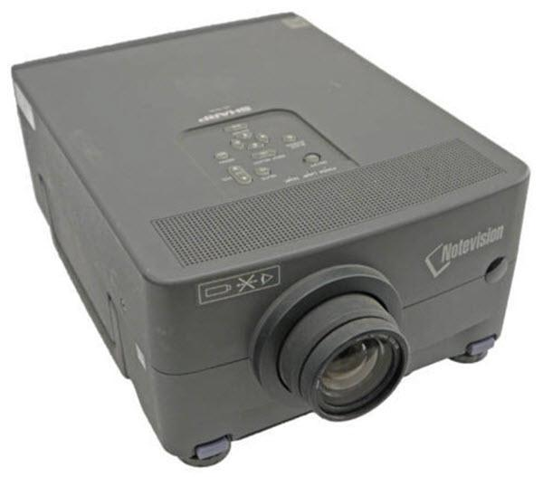 Sharp XG-NV2U Projector