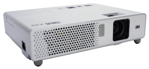 3M X20 Projector