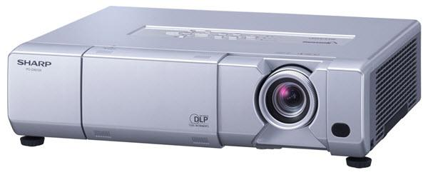 Sharp PG-D45X3D Projector