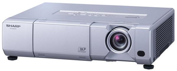 Sharp PG-D40W3D Projector