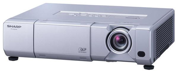 Sharp PG-D50X3D Projector