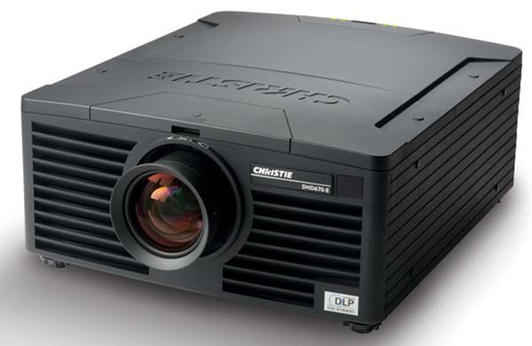 Christie DHD670-E Projector