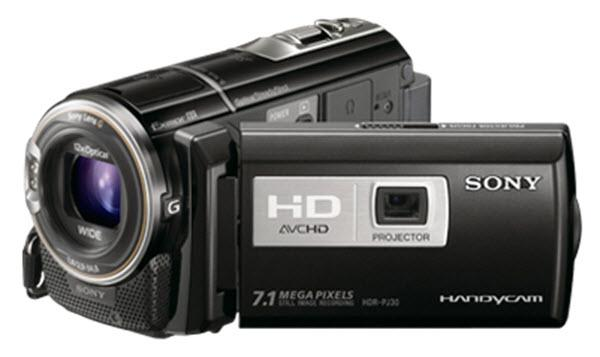 Sony HDR-PJ50V Projector