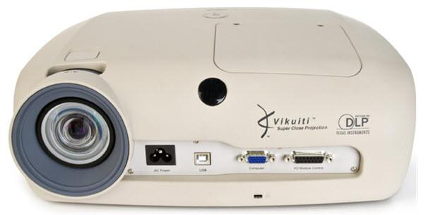 3M Super Close Projection System SCP725W Projector