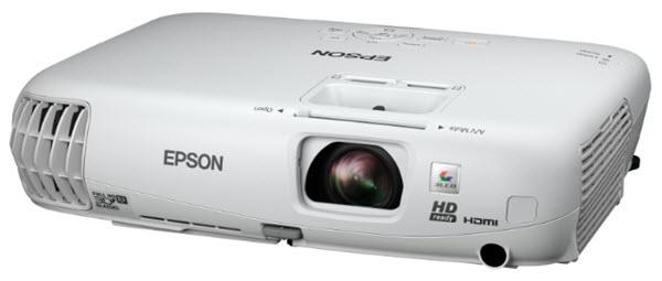 Epson PowerLite Home Cinema 750HD Projector