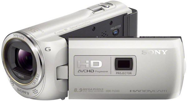 Sony HDR-PJ380V Projector