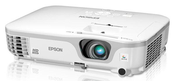 Epson PowerLite Home Cinema 707 Gold Edition Projector