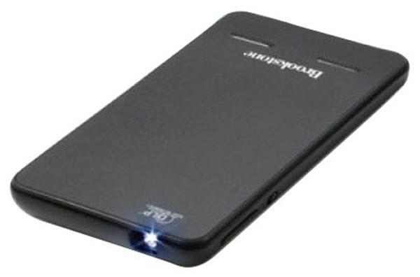Brookstone Pocket Projector Slim Projector