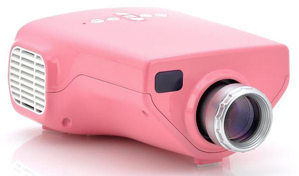 Chinavasion MiniView Pink Projector