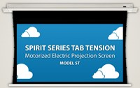 Severtson Spirit Tab Tension In-Ceiling Electric Screen