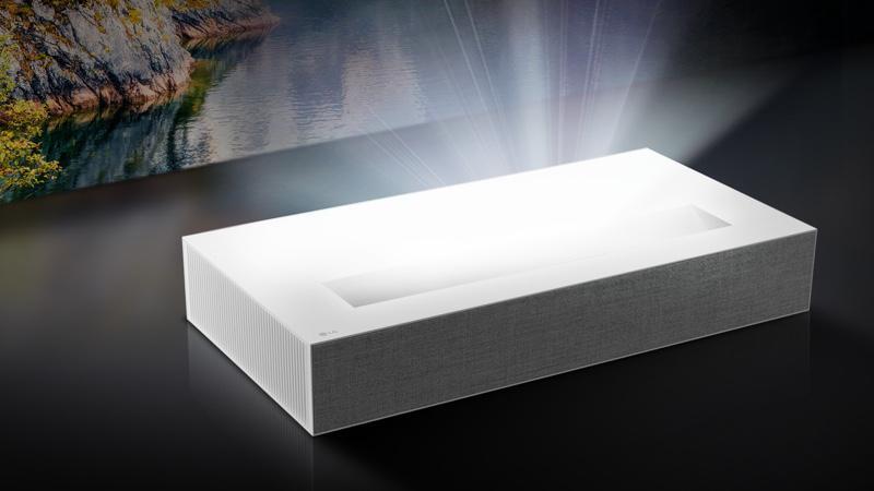 LG CineBeam HU85LA 4K UST Laser Projector Review