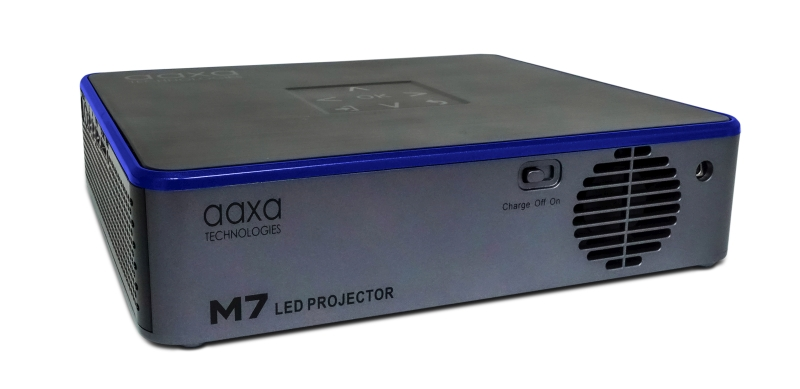 AAXA M7 back