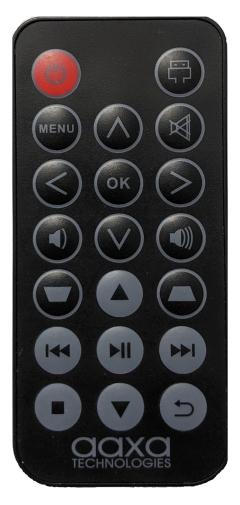 AAXA P6X remote