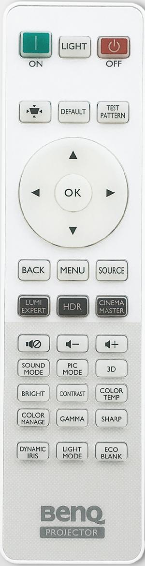 BenQ-HT3550-remote