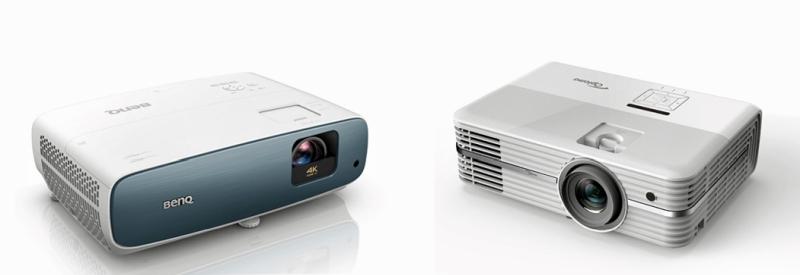 Benq TK850 OptomaUHD52ALV comparison
