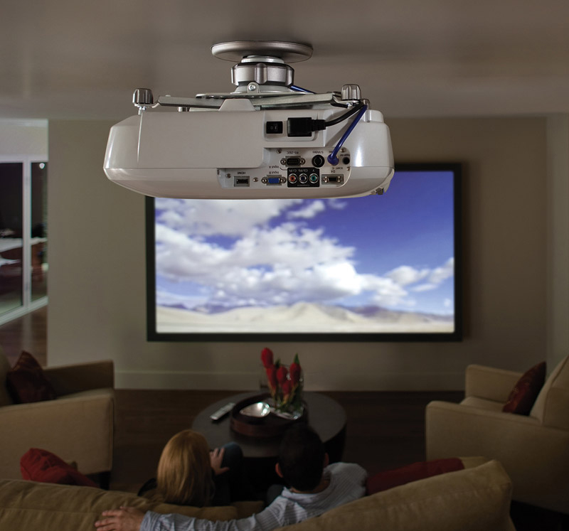 Ceiling mounted projector3