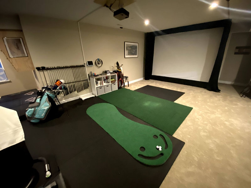 DIY Golf Sim Carls 800 S