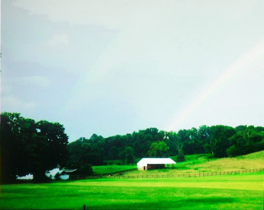 Double rainbow, 8-bit