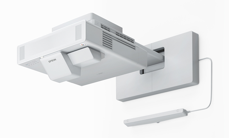 Epson BrightLink1485Fi wall