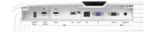Epson Home Cinema 4010 4K Enhanced Projector Connections