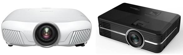 Epson HC 4010 vs. Optoma UHD51A