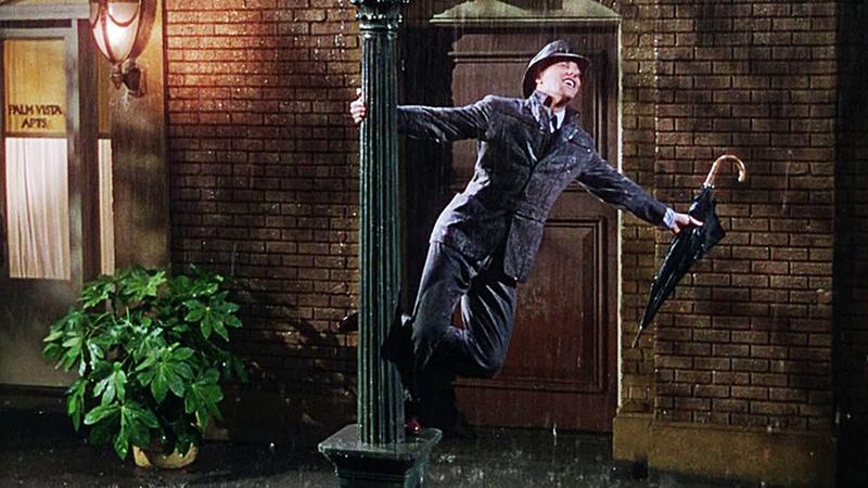 Gene Kelly Singing in the Rain6