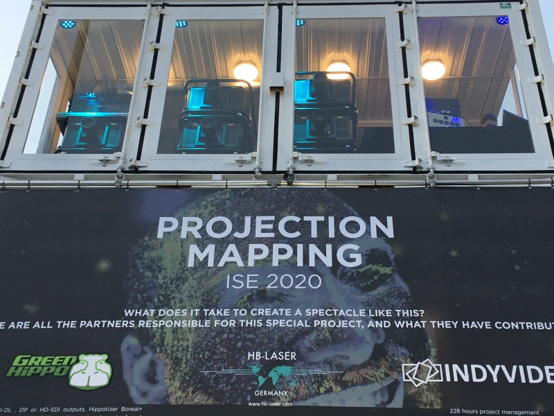 ISE 2020 Projection Mapping Demo3