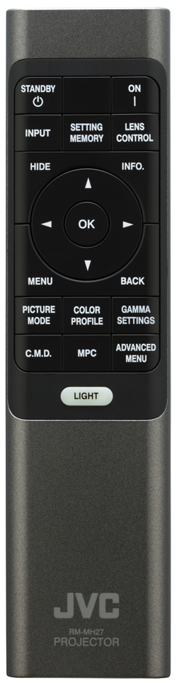 JVC DLA NX5 Remote