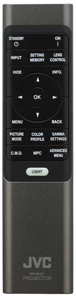 JVC DLA NX7 Remote