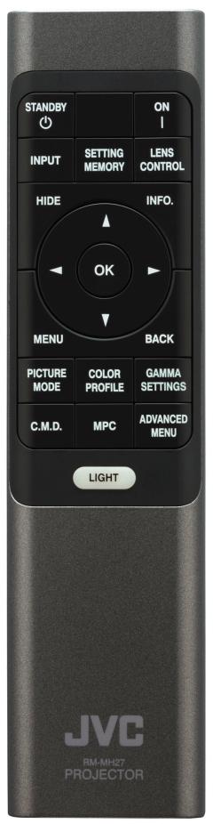 JVC DLA NZ7 remote