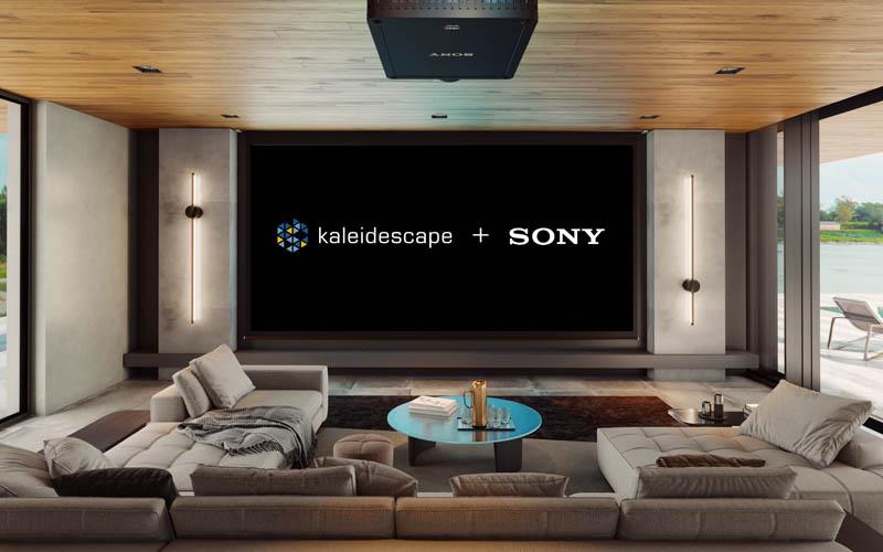 Kaleidescape Sony Slider