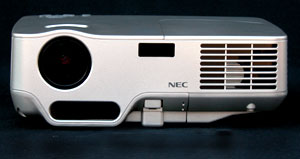 The NEC NP60 front panel