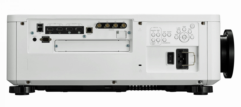 NEC PX1005QL W side controls connections