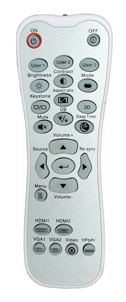 Optoma UHD50X remote