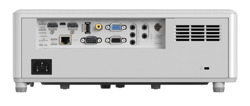 Optoma GT1090HDR connections