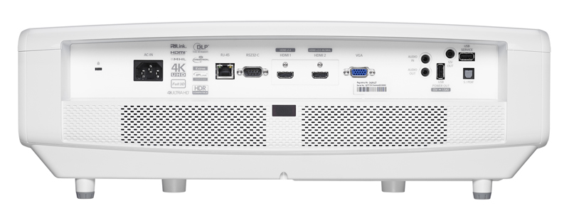 Optoma ZK507 Connections