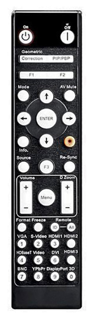 Optoma ZK507 Remote