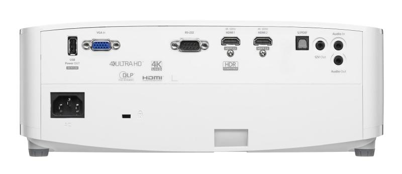 Optoma UHD35 connections