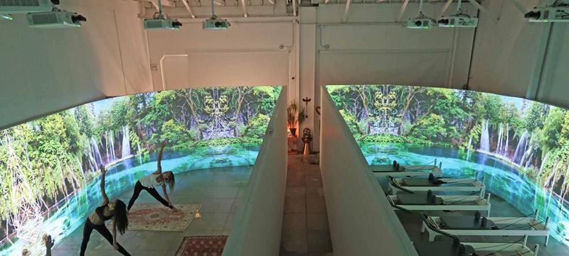 Oraya-Movement-Studio-With-Projectors