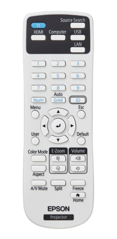 PowerLite L200SW Remote