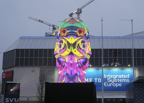 Projection-sculpture