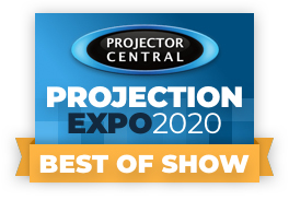 ProjectionExpo2020 Best Of Show Award